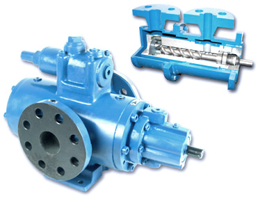 Two Rotor Screw Pumps