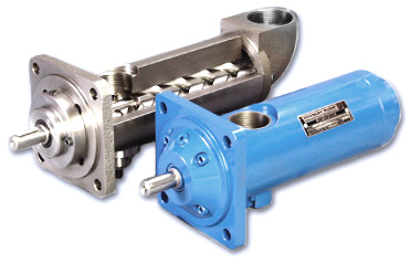 Three Rotor Screw Pumps