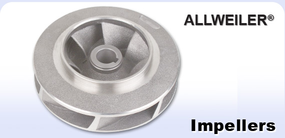 Allweiler logo and pump impeller