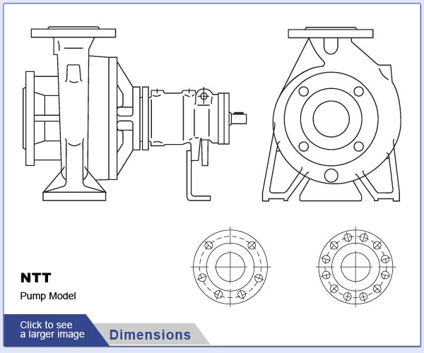 Allweiler® NTT Series Thermal Fluid Pumps and Replacement Parts