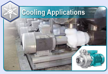 Cooling Tower and Cooling Circuit Pump Installation