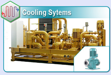 Pumping Cooling Water for Catepillar Diesel Engines