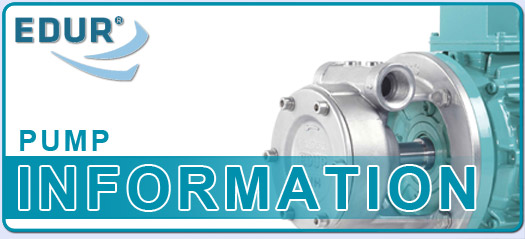 New EDUR OEM Replacement Pumps