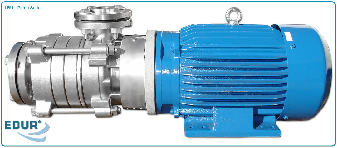 High Pressure Multi Stage Pump : Edur lbu series high pressure multistage centrifugal
