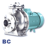 EDUR BC Series Stainless Steel Centrifugal Process Pump