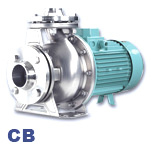 EDUR CB Series Stainless Steel Centrifugal Cooling and Refrigeration Pump