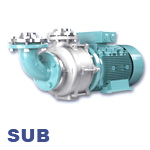 EDUR SUB Series Self-Priming Centrifugal Industrial Ballast and Bilge Water Pump