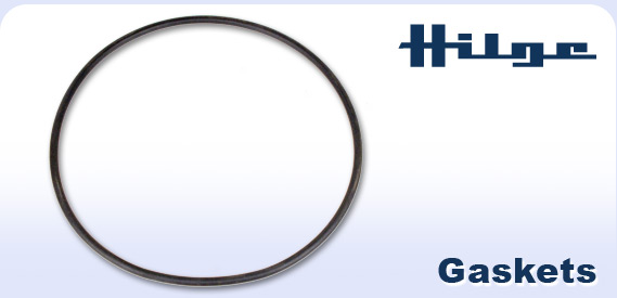 Hilge logo and gasket
