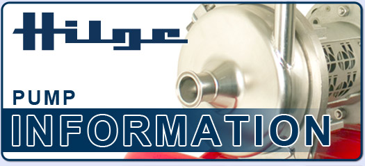 Hilge OEM Replacement Pumps