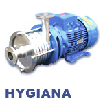 Hilge HYGIANA Series Multistage Beverage and Sterile Liquid CIP Centrifugal Pump