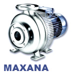 Hilge Maxana Series Heavy-Duty Stainless Steel Beer and Beverage Processing Pump