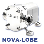 Hilge NOVA Lobe Series Stainless Steel Food-Processing Pump