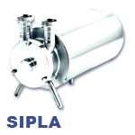 Hilge SIPLA Series Clean-In-Place (CIP) Single-Stage Stainless Steel Self-Priming Centrifugal Pump