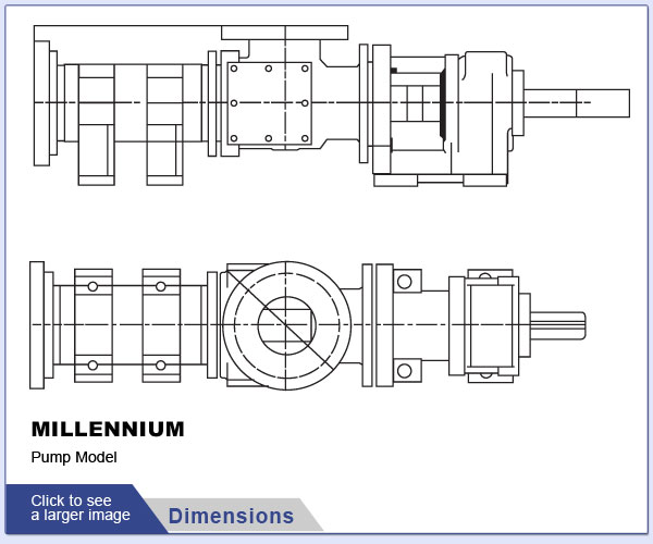 Liberty Millennium Pump Dimensions