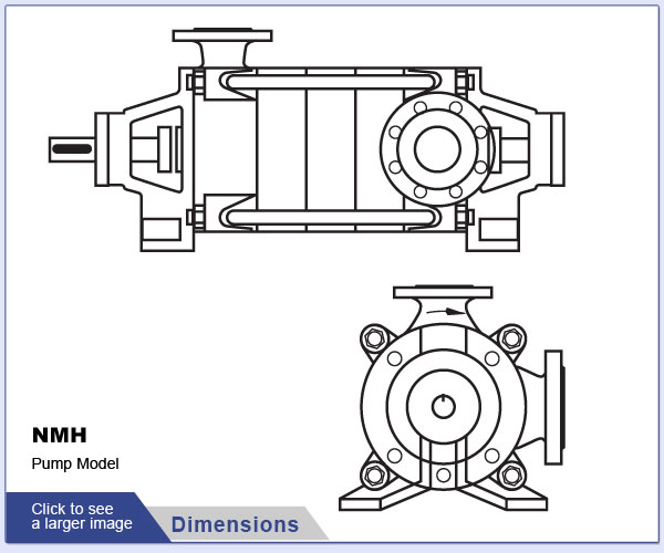 OSNA NMH Pump Dimensions