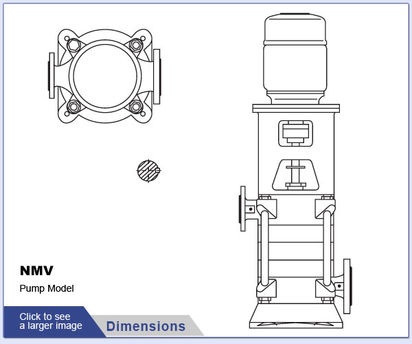OSNA NMV Pump Dimensions
