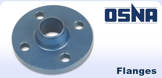 Osna logo and a pump flange