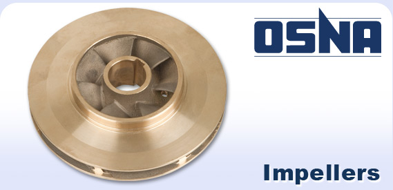 Osna logo and pump impeller