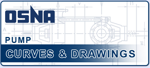 OSNA High Pressure Centrifugal Pump Line Drawings and Pump Curves