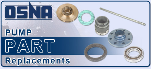 OSNA High pressure Centrifugal Pump parts