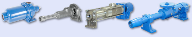 Progressive cavity pumps for abrasive pumping applications