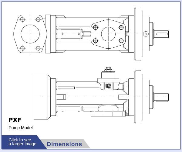 SEIM PXF Series Screw Pumps for Viscous Fluids and Fuel Transfer