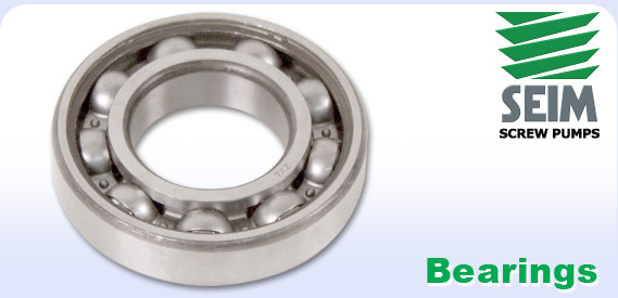 Seim logo and pump bearing