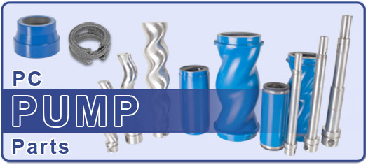 Progressive Cavity Replacement Pump Parts