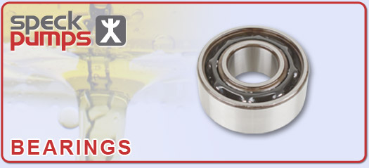 Speck Replacement Pump Bearings for Speck Thermal Fluid Pumps