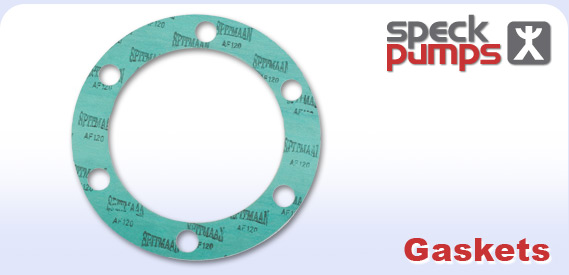 Speck logo and gasket
