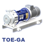 Speck TOE-GA Series Centrifugal Heat Transfer Pump
