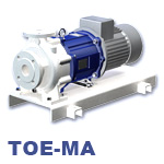 Speck TOE-MA Series Centrifugal Heat Transfer Pump